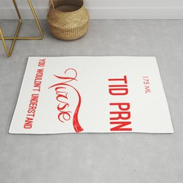 Nurse It's a Nurse Thing You Wouldn't Understand Nursing Medical Professional Rug
