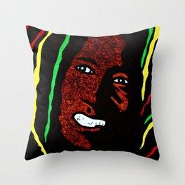 Smilin' Bob Throw Pillow