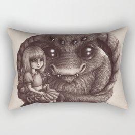 'Moe and the Captain' Rectangular Pillow