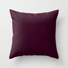 Toledo Brown Colour Throw Pillow