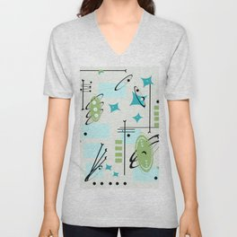 Pointed in the Right Direction Unisex V-Neck