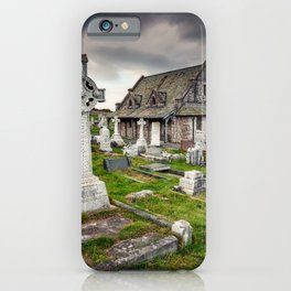 Saint Tudno Llandudno iPhone Case