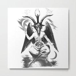 Baphomet - Satanic Church Metal Print