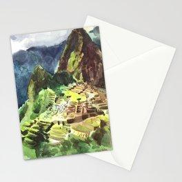 Machu Picchu Peru South America Stationery Cards