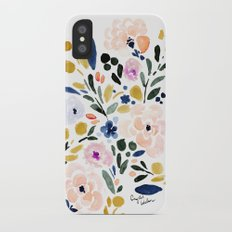 Sierra Floral iPhone X Slim Case