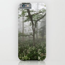 Great Smoky Mountains National Park - Forest Wildflower Adventure iPhone Case
