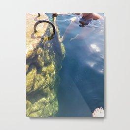 Cenote #4 Bacalar Quintana Roo Metal Print
