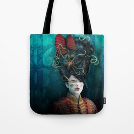 Queen of the Wild Frontier Tote Bag