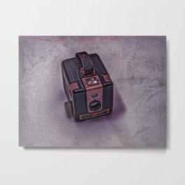 Old Brownie Camera Metal Print