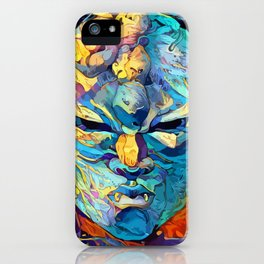 Stone mask iPhone Case