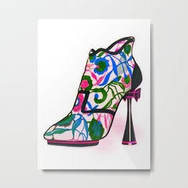 Colourful Bootie Metal Print