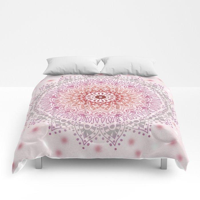 SUMMER MANDALA Comforters