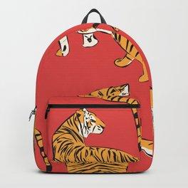 Tiger Pattern 005 Backpack