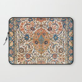 Isfahan Antique Central Persian Carpet Print Laptop Sleeve