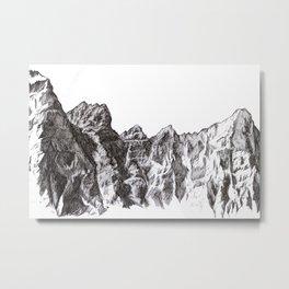 Alberta, CA Metal Print