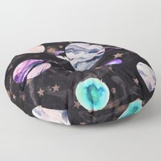 Marble Galaxy Floor Pillow