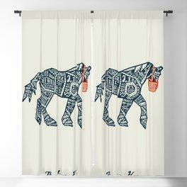 Iron Horse Blackout Curtain
