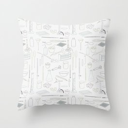 Lab equiptment Throw Pillow