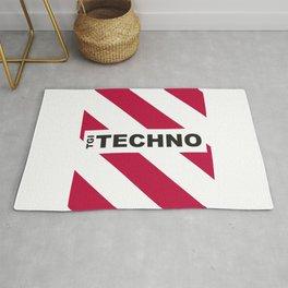 Thank God is Techno Rug