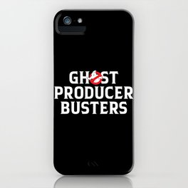 Ghost producer hunters, djs gift iPhone Case