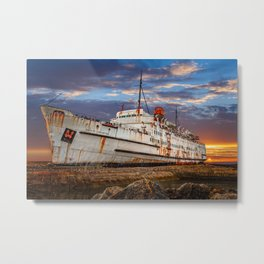 Duke of Lancaster Sunset Metal Print