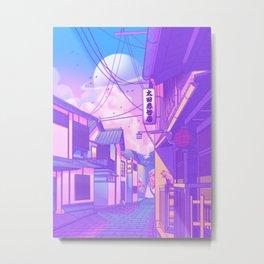 City Pop Kyoto Metal Print