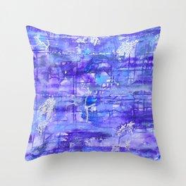 Into the Twilight Dimenision Throw Pillow