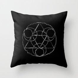 triangle 02 Throw Pillow