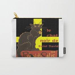 Le Chat Noir De Saint David De Rodolphe Salis Carry-All Pouch