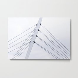 Taut Lines 2 Metal Print