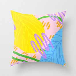Shh Throw Pillow