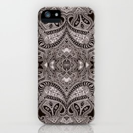 paisley dagger iPhone Case