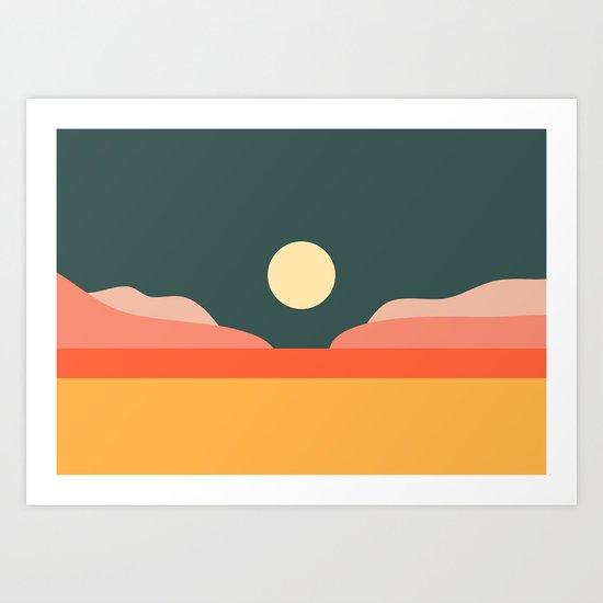 Geometric Landscape 14 by theoldartstudio