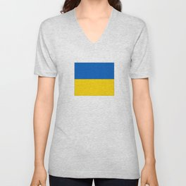 flag of ukraine Unisex V-Neck