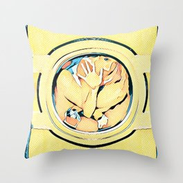 Trapped ~ 13 reasons why Throw Pillow