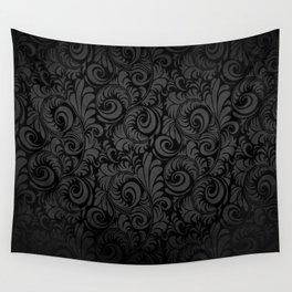 Damask Pattern Wall Tapestry