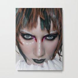bird girl Metal Print