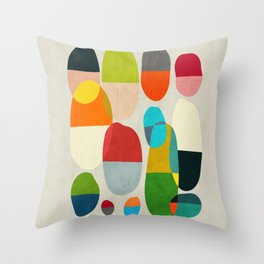 Jagged little pills Throw Pillow