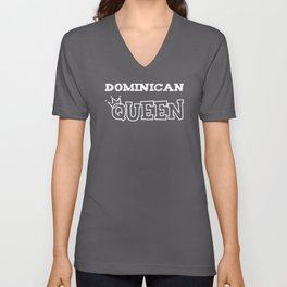 Dominican Queen Unisex V-Neck