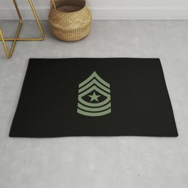 Sergeant Major (Green) Rug