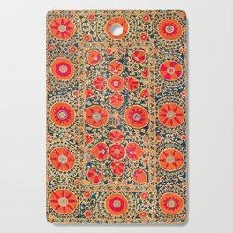 Kermina Suzani Uzbekistan Print Cutting Board