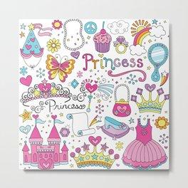 Princess Metal Print