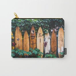 Surfboard Fence Carry-All Pouch