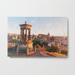 Calton Hill, Edinburgh Metal Print
