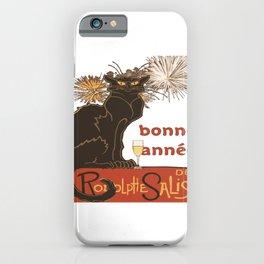 Bonne Annee Happy New Year Parody iPhone Case