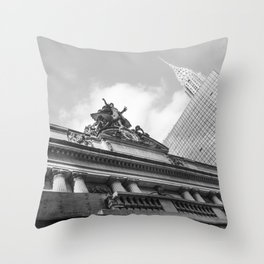 Grand Central NY Throw Pillow