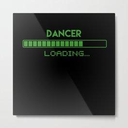 Dancer Loading Metal Print
