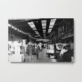 The Entry to Tsukiji Fish Market, Tokyo, Japan Metal Print
