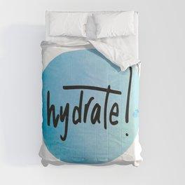 Watercolour Self-Love Reminder Comforters
