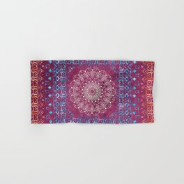 Old Bookshop Magic Mandala Hand & Bath Towel